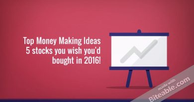 Top Money Making Ideas - 5 Stocks you wish you'd have bought in 2016! 3