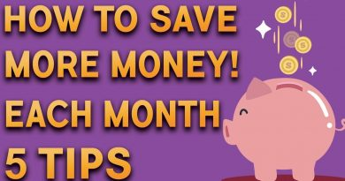 5 TIPS ON HOW TO SAVE MONEY EACH MONTH ! 2