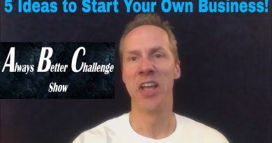 5 Business Tips/Ideas for Your Own Startup Small Business! How to make money online or off! 2