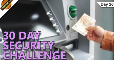 Spot ATM Skimmers / Freeze Credit History - Day 26 - 30 Day Security Challenge - TekThing 4