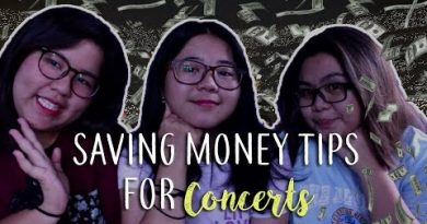 SAVING MONEY TIPS FOR CONCERT 2.0 || FANGIRLAW 4