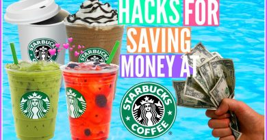 Life HACKS for SAVING Money At STARBUCKS!!!! 4
