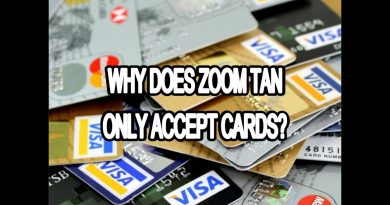 WHY DOES ZOOM TAN ONLY TAKE DEBIT AND CREDIT CARDS? 4