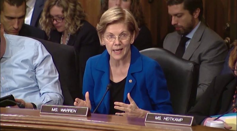 Sen. Elizabeth Warren Pushing for Adoption of Her Free Credit Freeze Bill 1