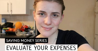 Evaluate Your Expenses // Saving Money #3 // Minimalism & Money 4