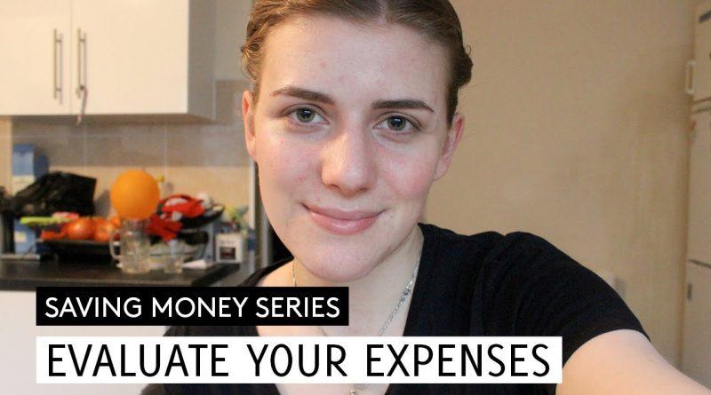 Evaluate Your Expenses // Saving Money #3 // Minimalism & Money 1
