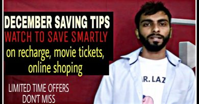DECEMBER SMART SAVING TIPS ON RECHARGE, MOVIE TICKETS AND SHOPING GRAB IT BEFORE IT GONE. 3