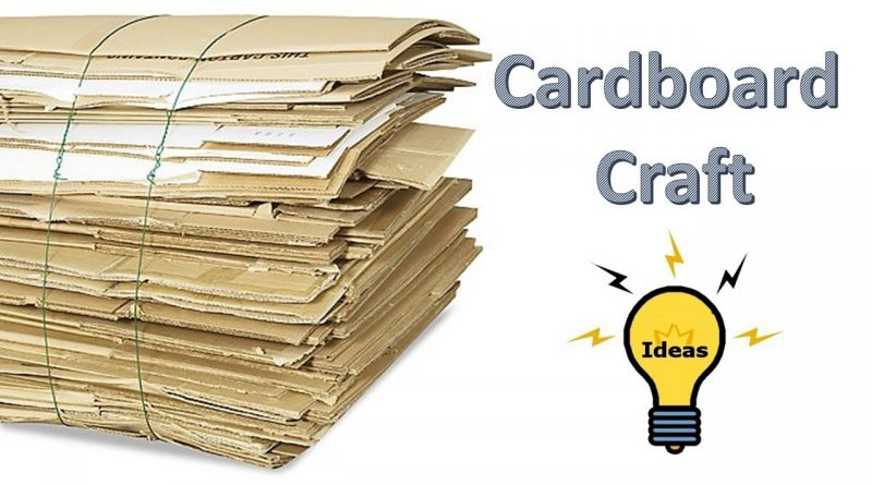 Cardboard Craft Ideas How To Make Home Bank For Kids Piggy Bank
