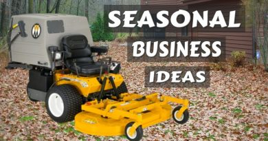 Winter OFFSEASON Money Making Lawn Care Business Ideas, Doing Fall Cleanup 3