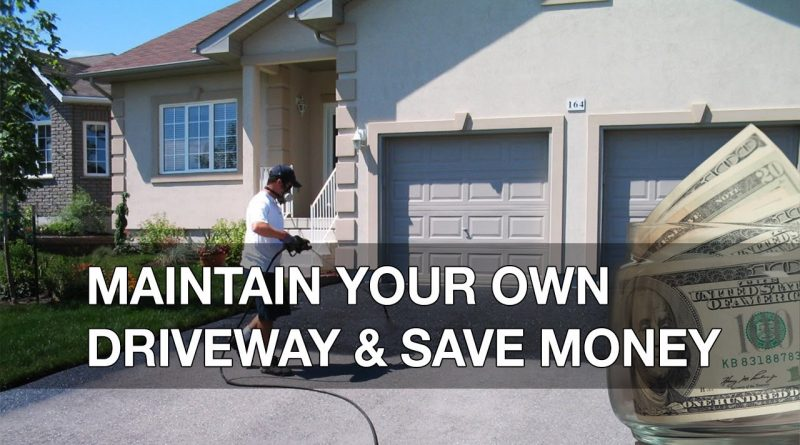 How to maintain your own driveway and save money 1