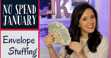 No Spend January Envelope Stuffing - Money Saving Challenge 2018 4