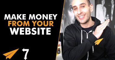 7 Ways to Make MONEY From Your WEBSITE! - #7Ways 3