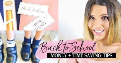 BACK TO SCHOOL HACKS | MONEY AND TIME SAVING TIPS AND IDEAS FOR MUMS! 2