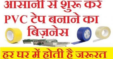 PVC/BOPP Tape making business idea, Top Best small, manufacturing business ideas, in india, in hindi 4