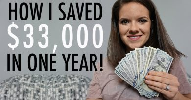 How To Save Money - How I Saved $33,000 in a Year 2