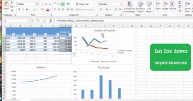 Graphs and Charts to help pay debt or credit cards in Excel 2