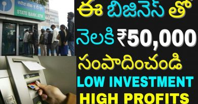 How to Start ATM Bank Business and Earn money | Atm Bank machine | Small Business Idea | in telugu 3
