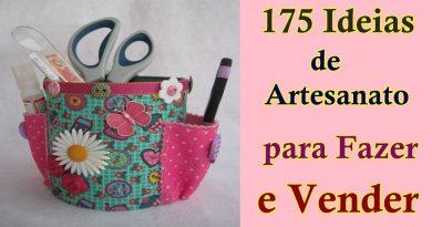 175 Ideias de Artesanato para Fazer e Vender 3