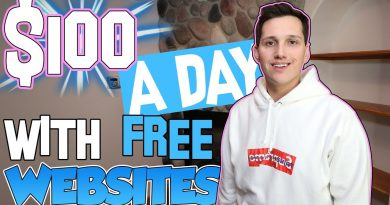 How To Make $100 A Day With FREE Websites [THIS IS CRAZY!] 2
