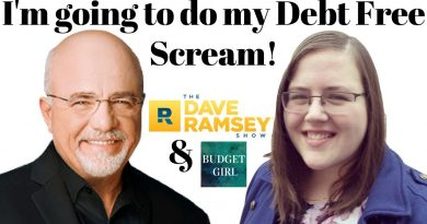 Going to do my DEBT FREE SCREAM with Dave Ramsey! 4