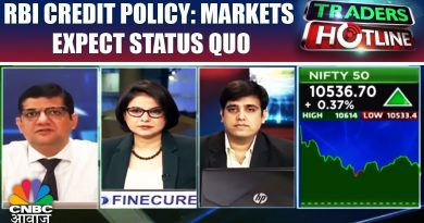 RBI Credit Policy: Markets Expect Status Quo | Traders Hotline | CNBC Awaaz 3