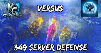 Ark Official PS4 PvP - Karma Crew - 349 Home Server Defense 4