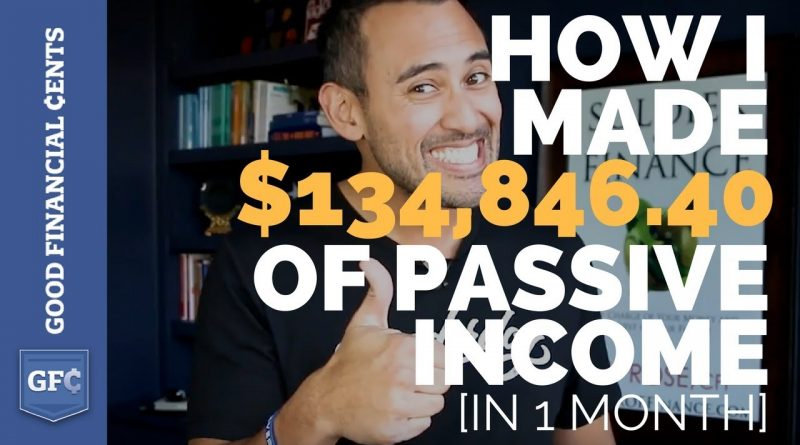 How I Made $134,846.40 of Passive Income in 1 Month [Myths Debunked] 1