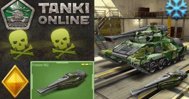 Tanki Online - M2 Freeze Turret Destruction (FFA, #1) 3