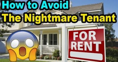 Avoid the NIGHTMARE tenant and eviction: My Tenant screening process 3