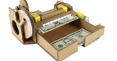 How To Make Money Counting Machine - Cardboard 3