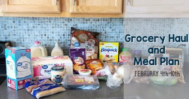 Grocery Haul & Meal Plan | Feb. 4th-10th 2