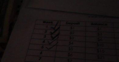 Week 6 saving money 3