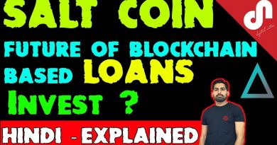 SALT Lending Coin-The Future of Crypto Loans-A Revolution For Cryptocurrency Investors-Review[Hindi] 2