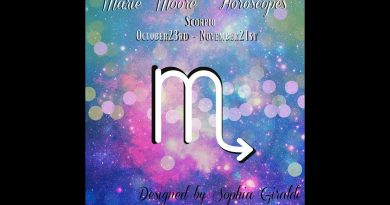 MARIE MOORE SCORPIO HOBBIES FEBRUARY 05,2018 WEEKLY HOROSCOPE 2