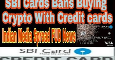 SBI Cards Bans Buying crypto with credit cards | Indian media prevert people | don't believe them 4