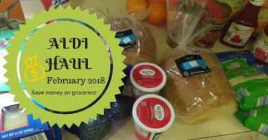 Aldi Haul| Save money on Groceries| February 2018 3