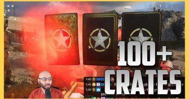 100+ WW2 Crates. RIP money. 2