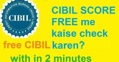 How to Check Your Credit Score (CIBIL SCORE) For Free Online -Free CIBIL score kaise dekhen Hindi me 3