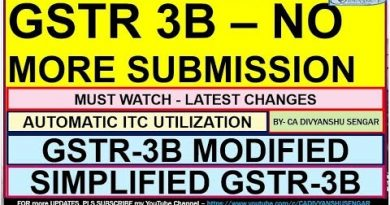 GSTR 3B SUBMISSION not REQUIRED now | EASY PROCESS of GSTR 3B Filing | CA DIVYANSHU SENGAR* 3