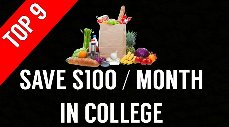 9 Ways To Save Money On Groceries In College   Grocery Tips 1