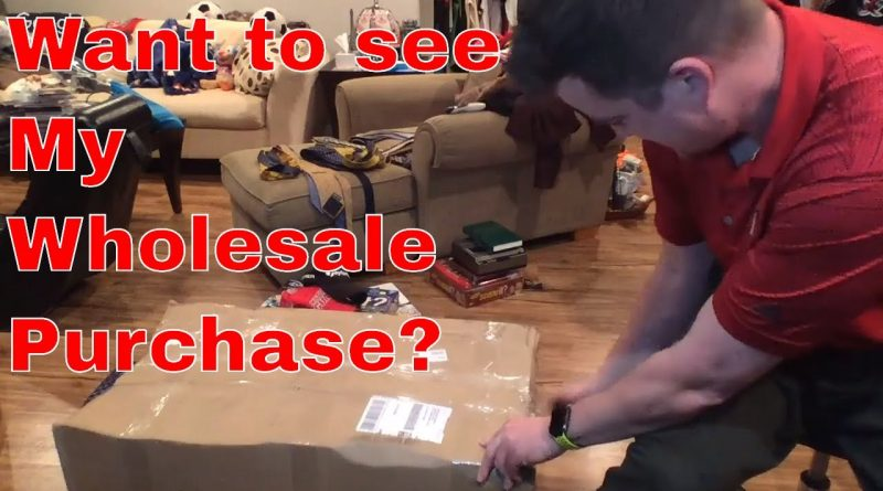 Wholesale Unboxing, How I Plan to Sell It and Liquidation.com Code Giveaway! 1