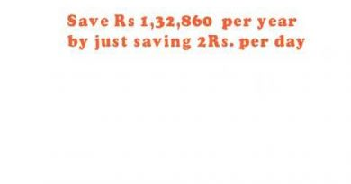 HOW TO SAVE MONEY  per year  1,32,860 4