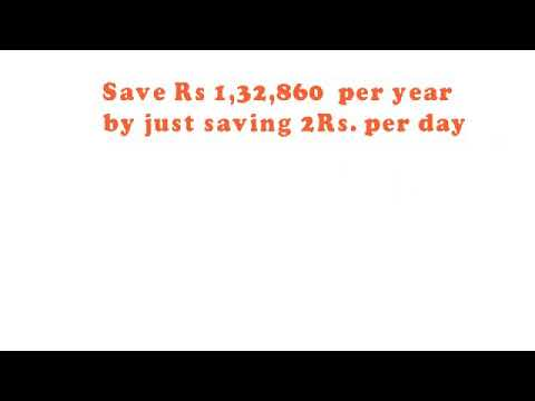 HOW TO SAVE MONEY  per year  1,32,860 1