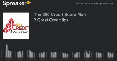 3 Great Credit tips (part 1 of 3) 3