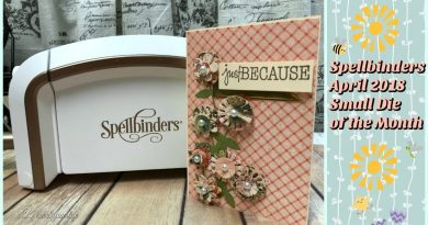 Spellbinders April 2018 Small-Die-of-the-Month | Easy to Make Cards 3