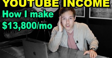 How I make $13,800 PER MONTH on YouTube (How much YouTubers make) 3