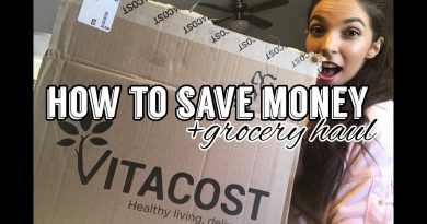 HOW TO SAVE MONEY GROCERY SHOPPING | My Tips + Vitacost Grocery Haul 2