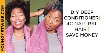 DIY Deep Conditioner   4c Natural Hair   save money 4
