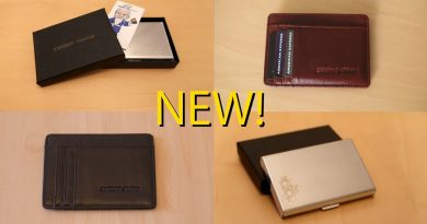 NEW! RFID Blocking Credit Card Case and Wallets On Sale Now! 2