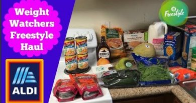 $47 Weekly ALDI Grocery Haul | WW Freestyle Haul | Post Wisdom Teeth Surgery 4